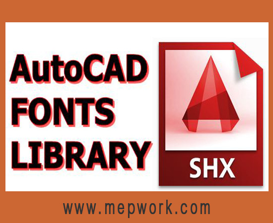 Download AutoCAD Fonts Library - Free SHX Fonts