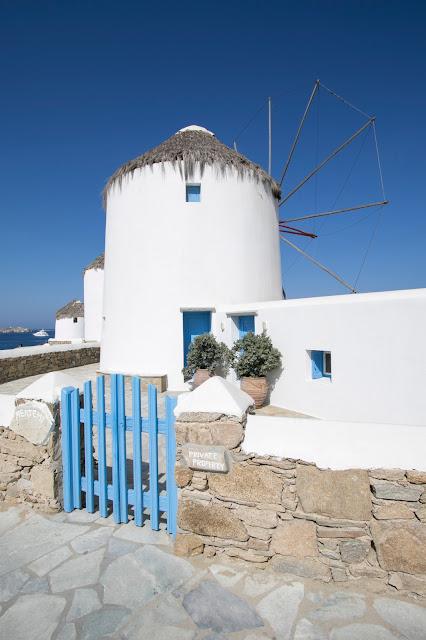 Mulino a vento-Mykonos town