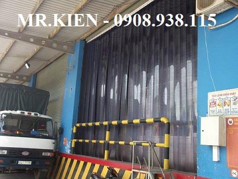 Lắp đặt màn nhựa  PVC ngăn lạnh Kho Dược phẩm 3A