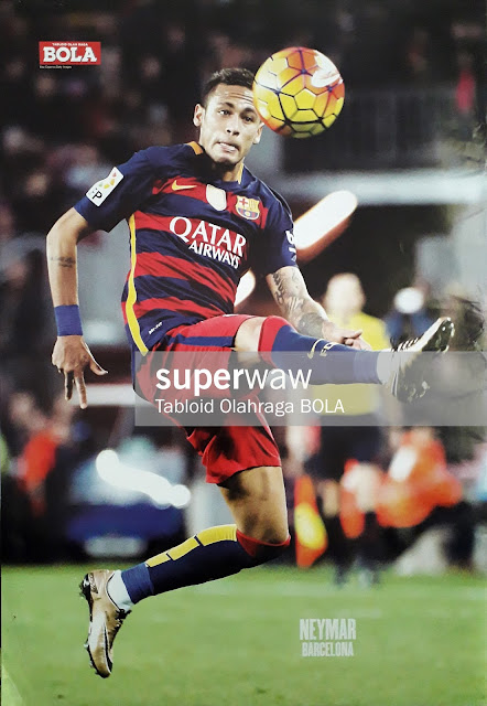 Poster Neymar (Barcelona 2015)