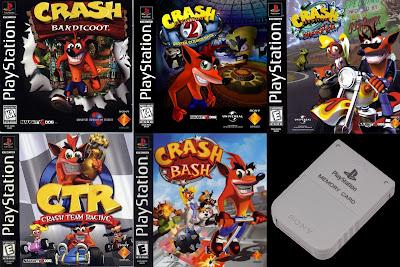 Faid's Blog™: Crash Bandicoot PSX 100% Save Game