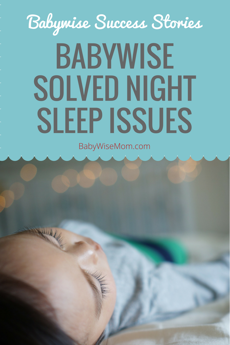 Babywise Solved Night Sleep Issues