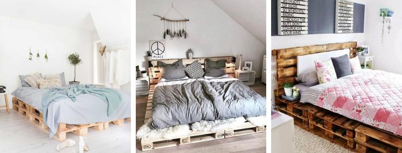 Como fazer camas com paletes?