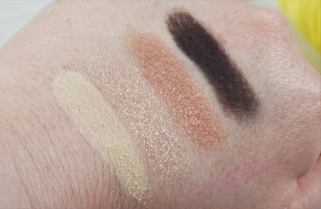 Bobbi Brown Sunkissed Eye Palette in Sunkissed Nude Swatches