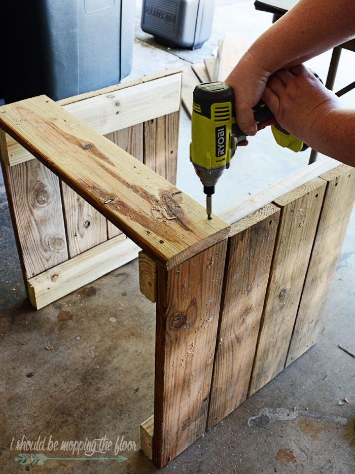 DIY Planter Box with Wheels