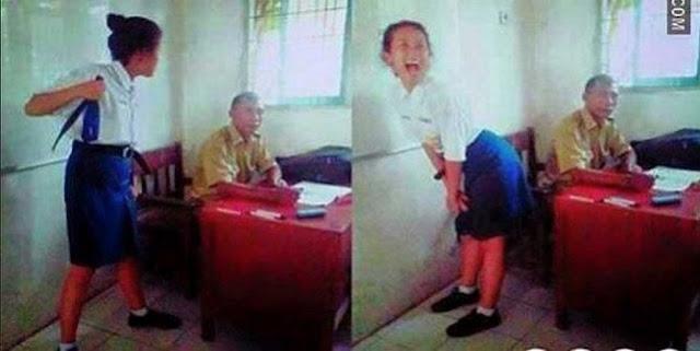 Apa Yang dirasakan Pak Guru ini?