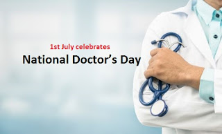 National Doctor's Day celebrated on 1st July