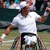El argentino Gustavo Fernández, finalista en el tenis adaptado en Wimbledon