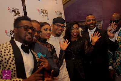 Rita Dominic, Ramsey Nouah, others shine at the Premiere of movie 76' in London (Photos)