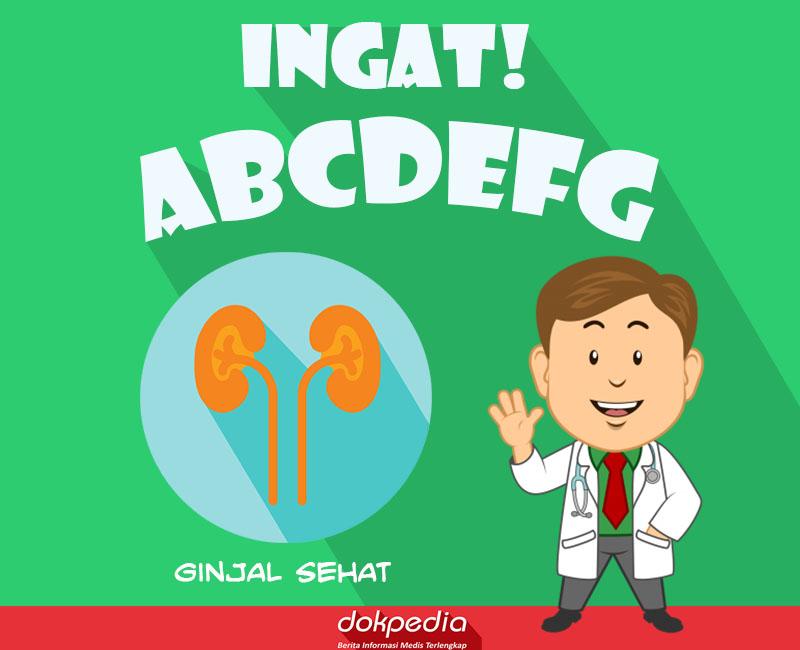 ingat ABCDEFG ginjal sehat