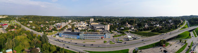 Markučių panorama žiūrint iš Paupio