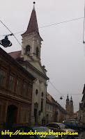 Calle Mitropolei de Sibiu