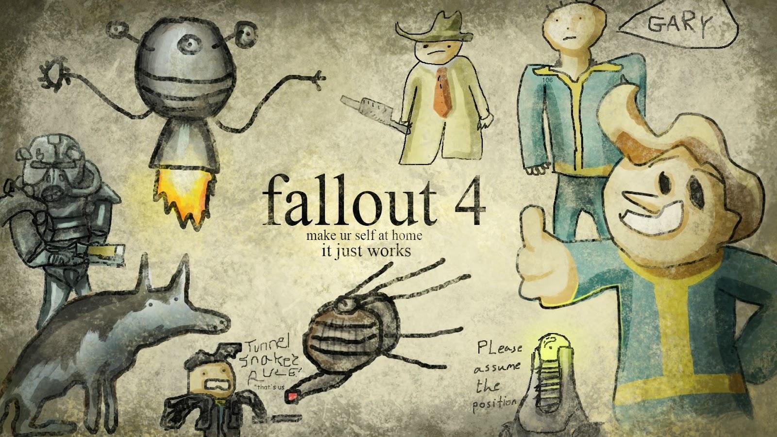 fallout 4 comic wallpaper