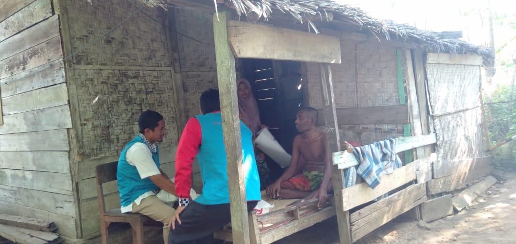Derita Abdurahman Kepala Keluarga yang tidak mampu lagi bekerja karena Penyakit Komplikasi di Deritanya.