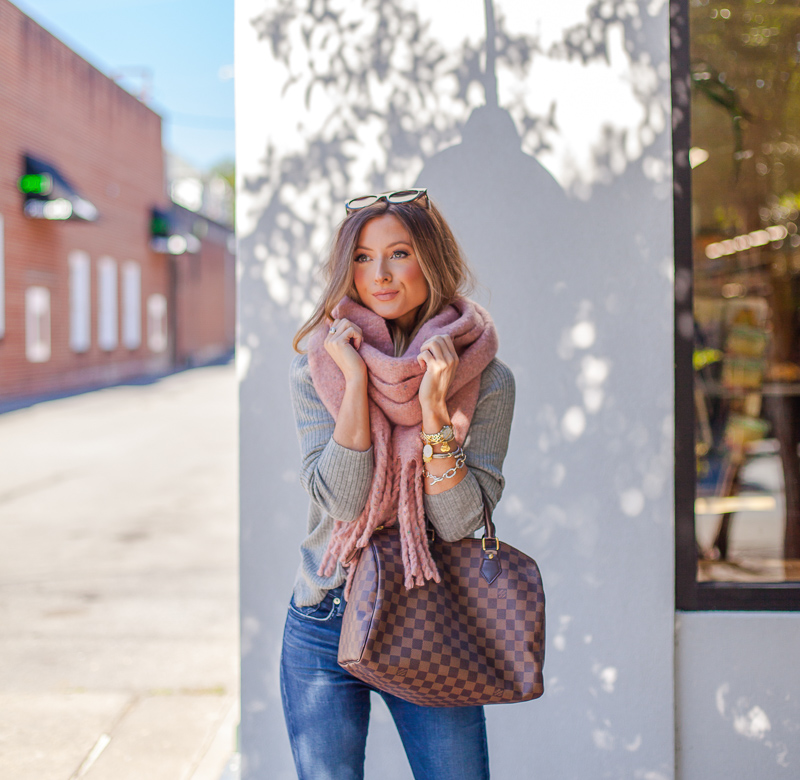 nordstrom shiraleah pink tyler scarf