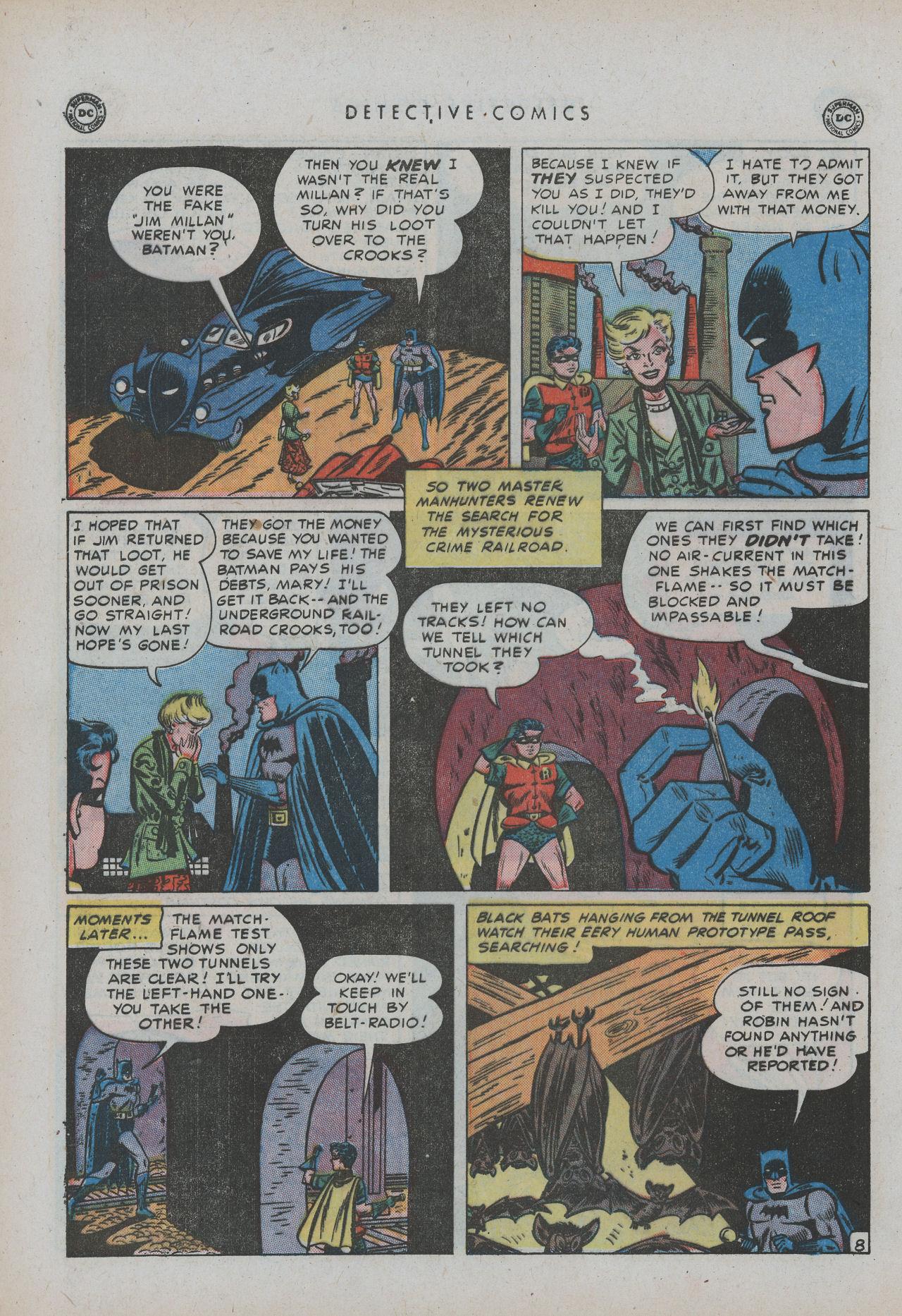 Read online Detective Comics (1937) comic -  Issue #154 - 10