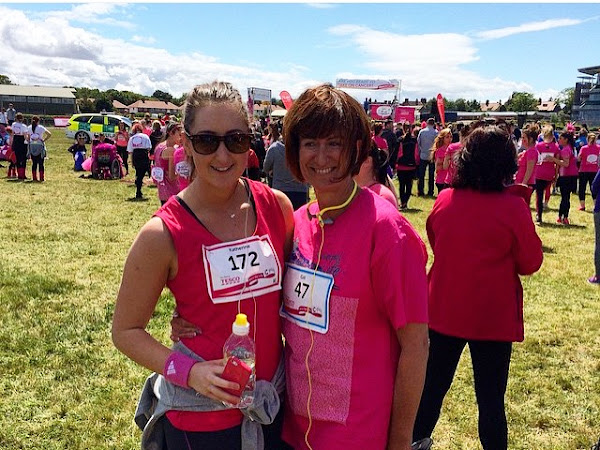 I DID IT .. RACE FOR LIFE 2015