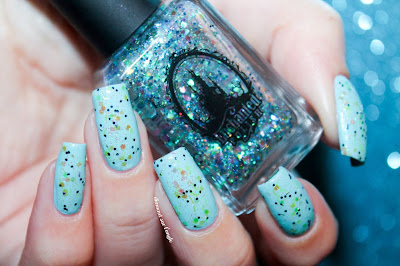 "Swatch of the nail polish ""Freeze Machine"" from Enchanted Polish"