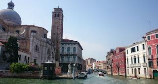 Gran Canal, Iglesia de San Geremia.