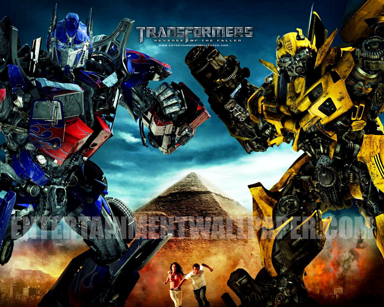 Wallpapers Dekstop 4 U: Transformers 2 Wallpaper