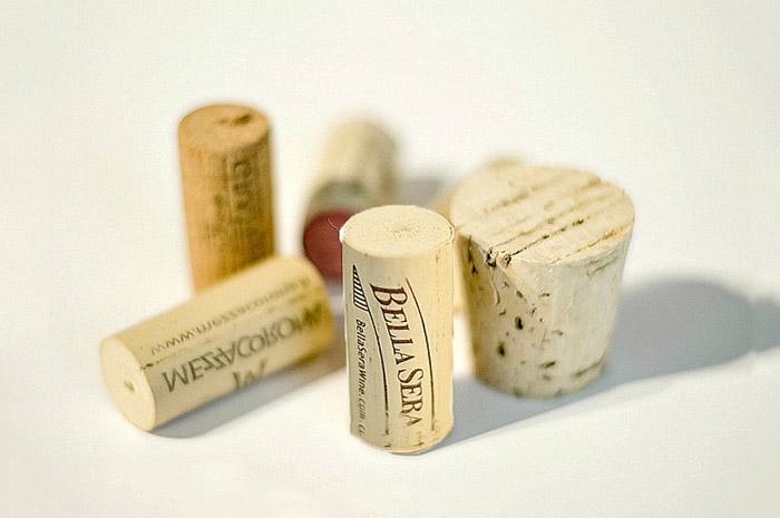 şarap şişesi mantarları mantar tıpalar
