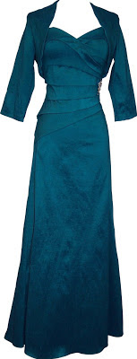 teal plus size long evening dresses
