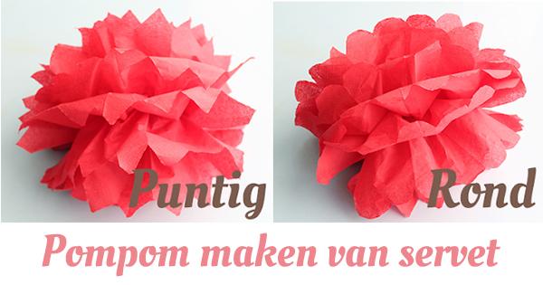 pompom maken papier