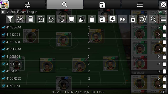 game guardian cheat player development dream league soccer