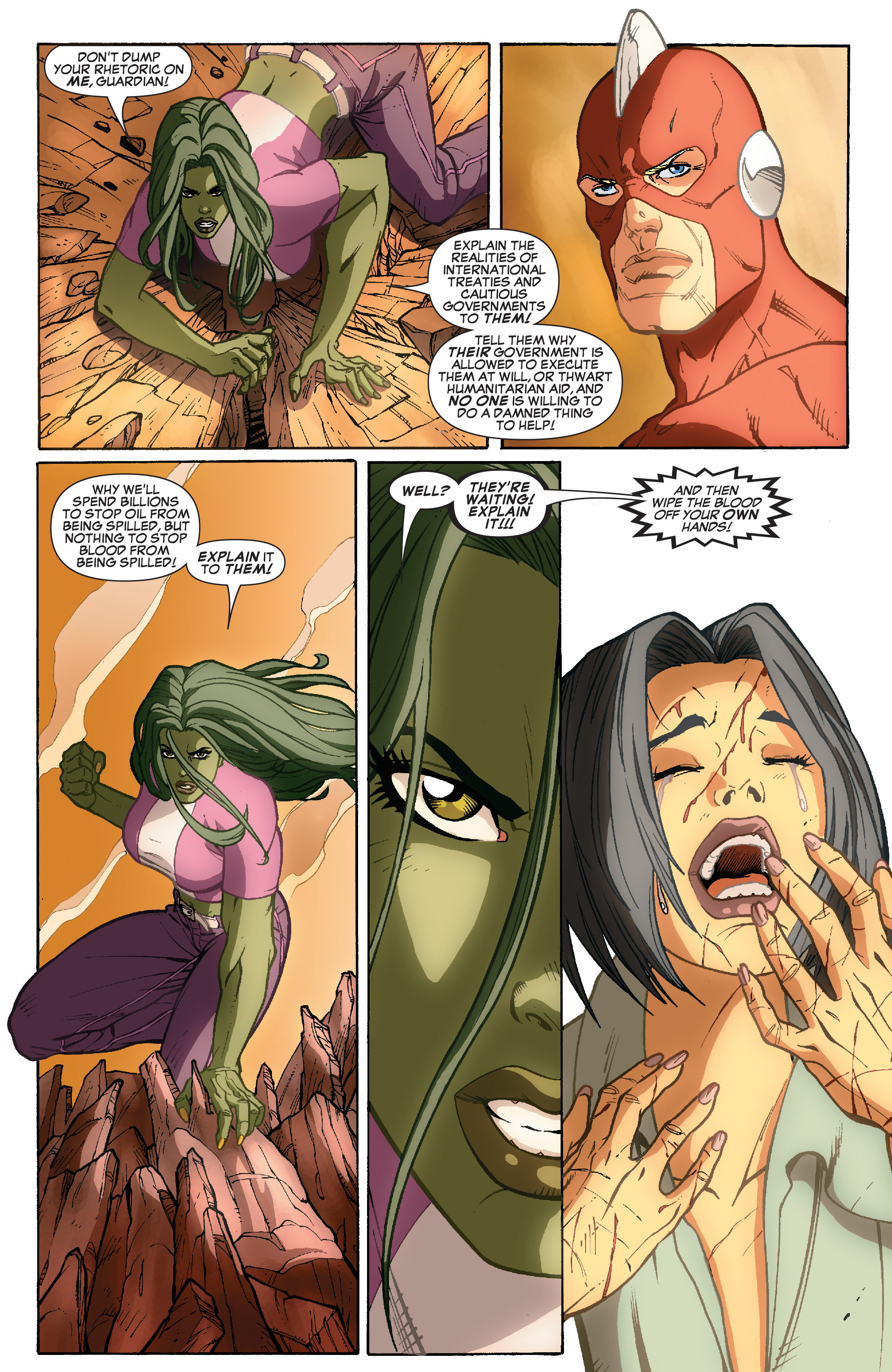 Read online She-Hulk (2005) comic -  Issue #35 - 17