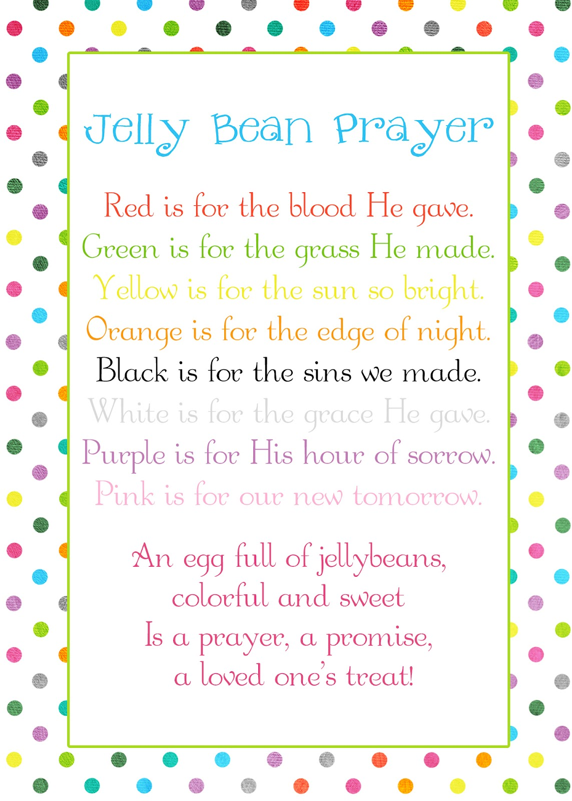 easter poems for kids - photo #29