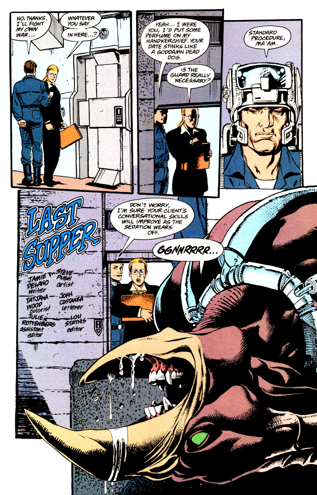 Read online Animal Man (1988) comic -  Issue #72 - 3