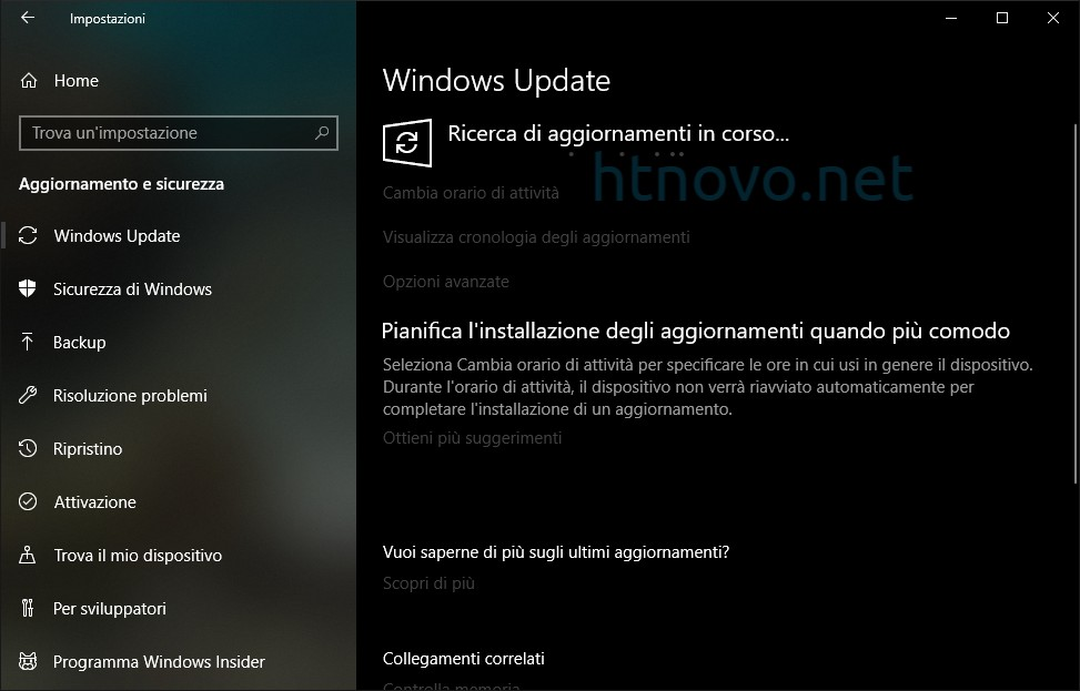 Ripristino-Windows-Update