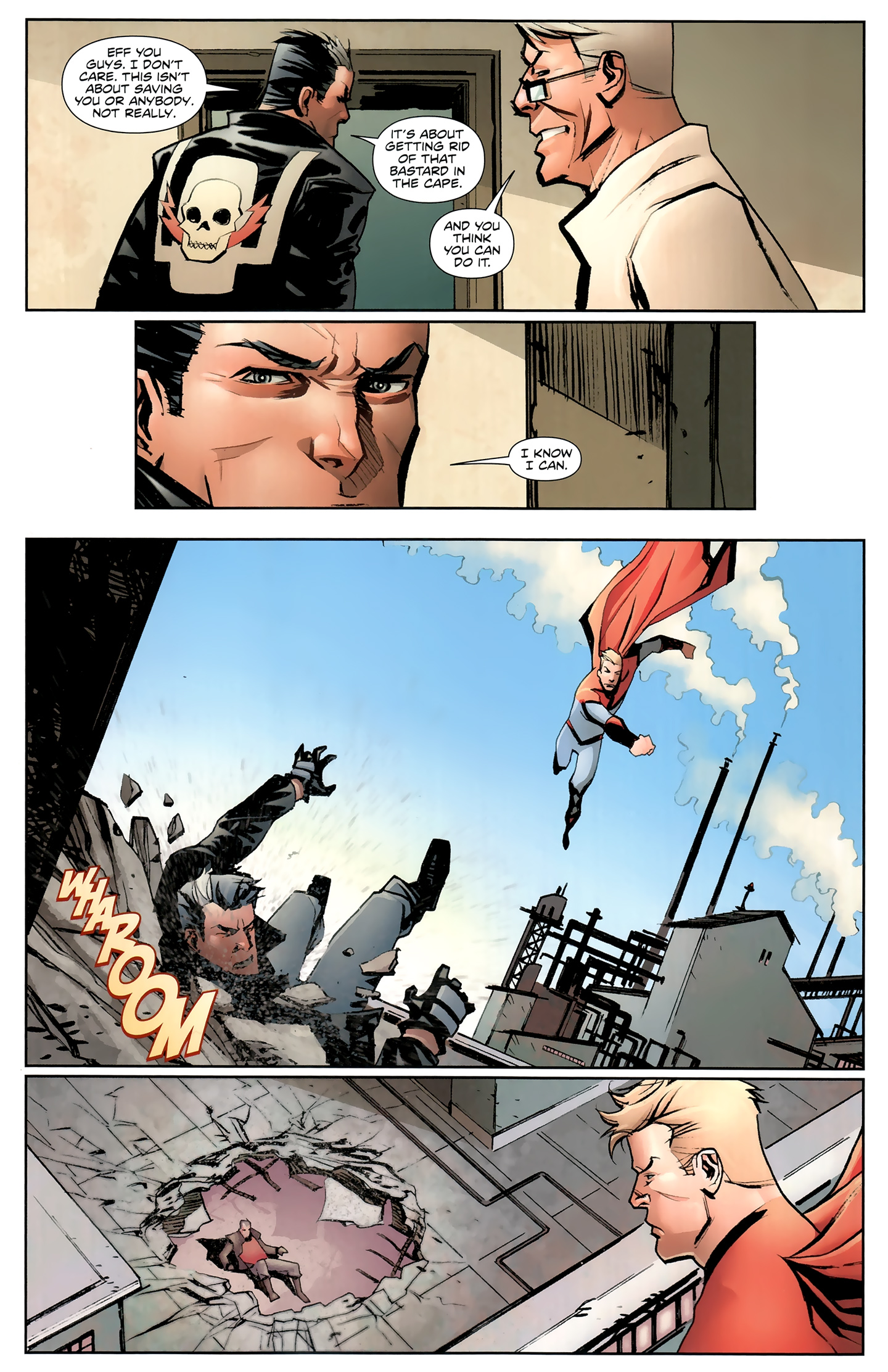 Read online Incorruptible comic -  Issue #26 - 13