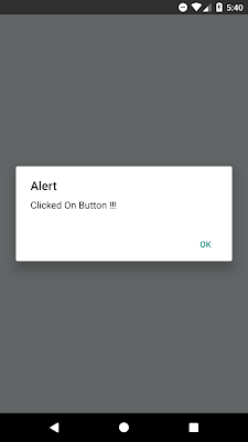 Set Button onPress Event In React Native