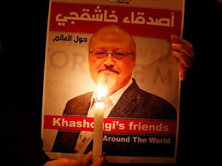 Khashoggi's corps was dissolved and poured down the drain. : REPORT