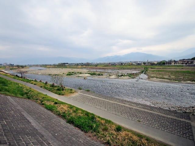 笛吹川サイクリングロード