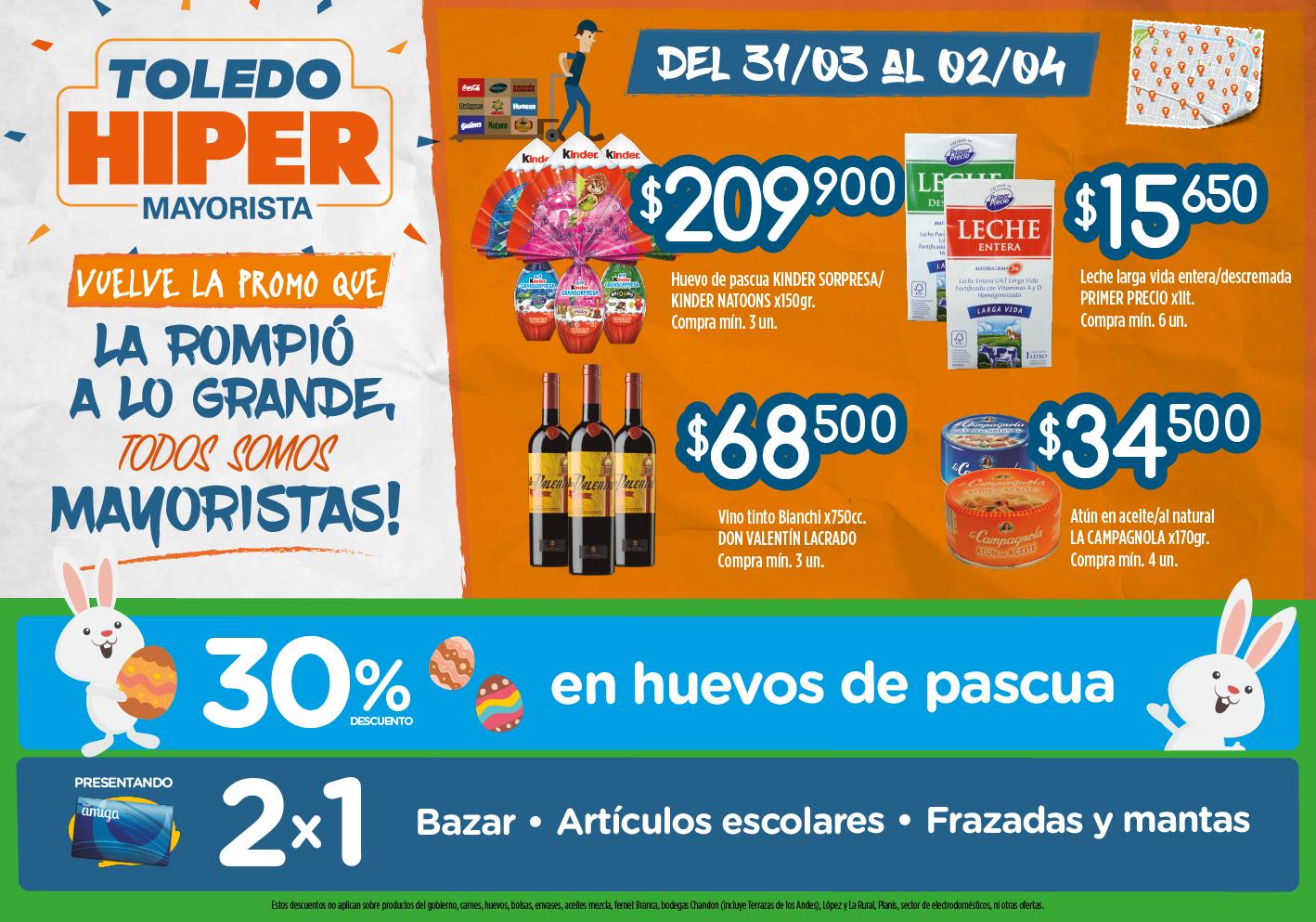 ofertas supermercados toledo fin de semana - Electrodomesticos Pascua