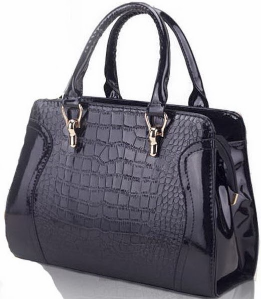Luxurious Retro PU Leather One-shoulder Women's Handbag