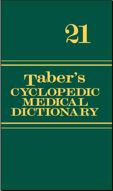 Taber's Cyclopedic Medical Dictionary, 21st Edition [PDF]