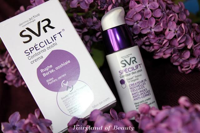 Отзыв: Крем-лифтинг Специлифт для контура глаз SVR SPECILIFT 35+ Contour Des Yeux.