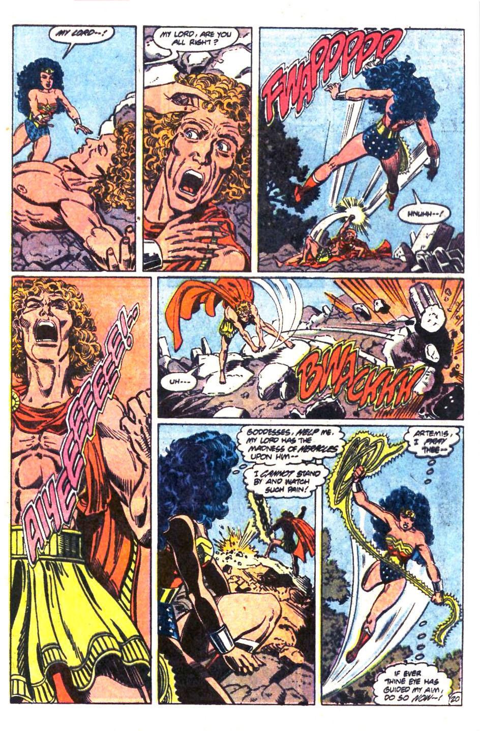 Read online Wonder Woman (1987) comic -  Issue #36 - 21