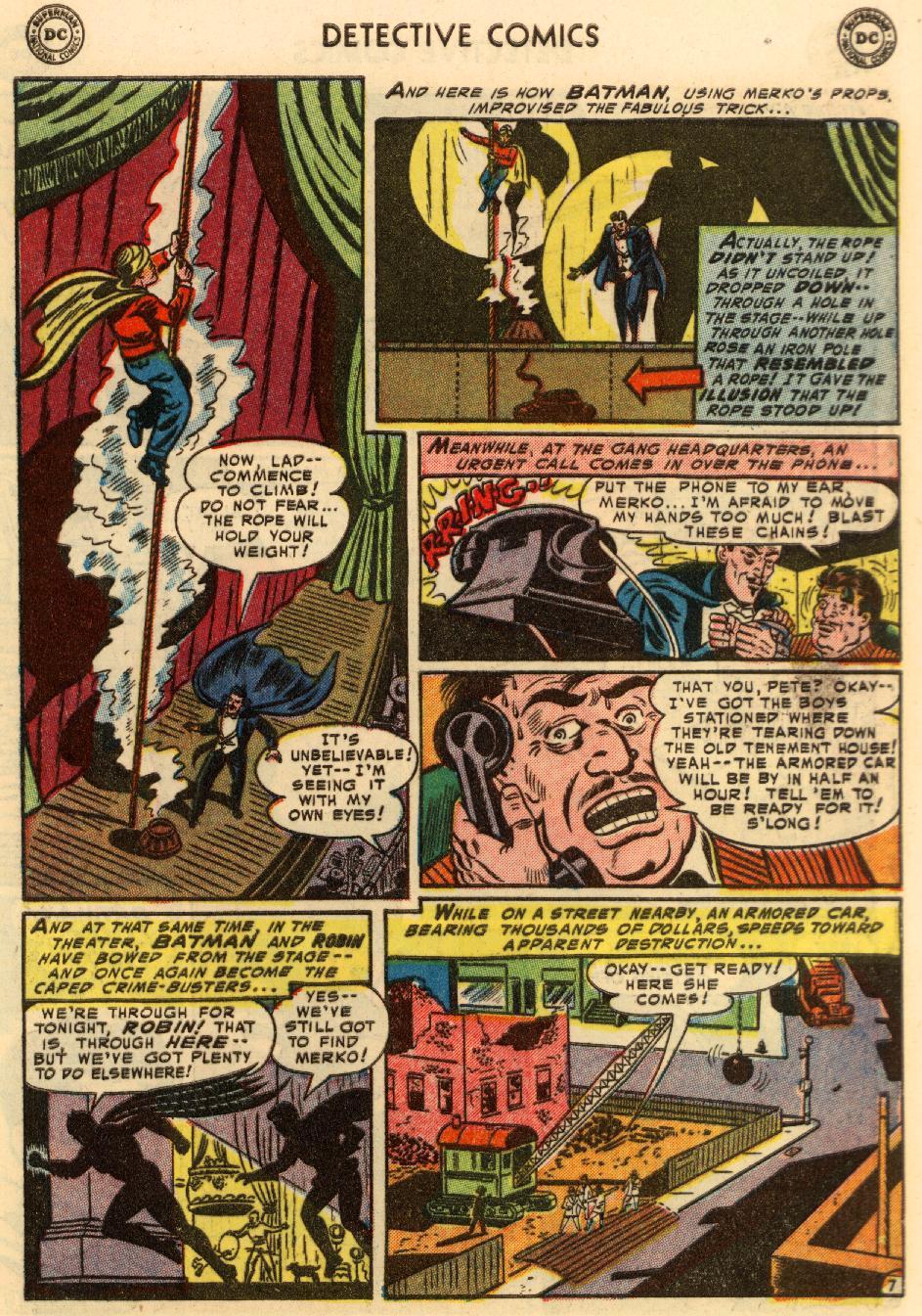 Read online Detective Comics (1937) comic -  Issue #207 - 8