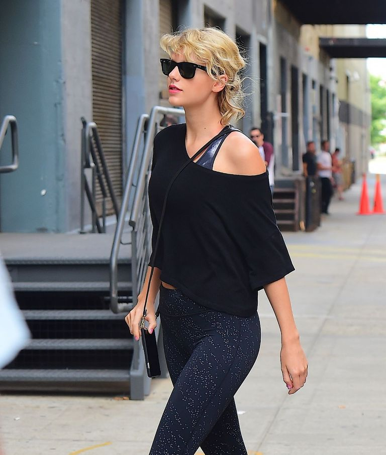Taylor Swift Gym Style in New York