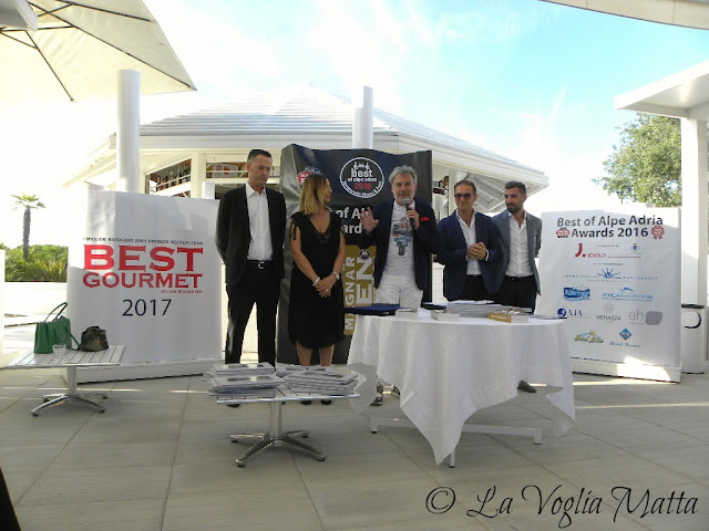 Premiazione Awards Best of Alpe Adria 2016