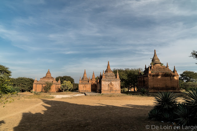Autour de Apeyadana temple - Bagan - Myanmar - Birmanie