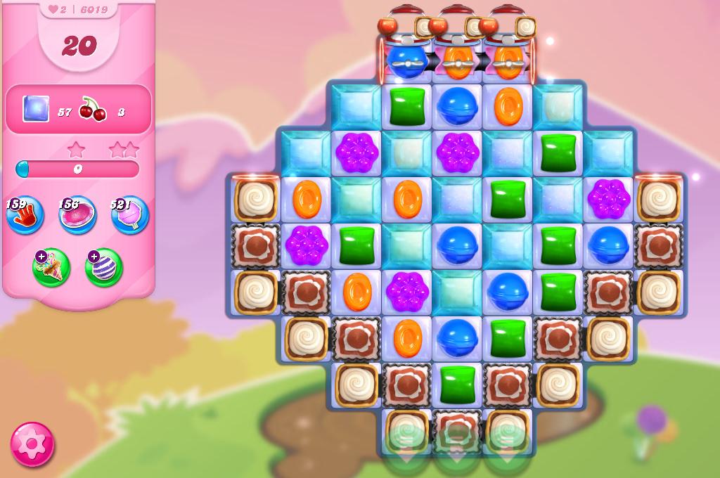 Candy Crush Saga level 6019