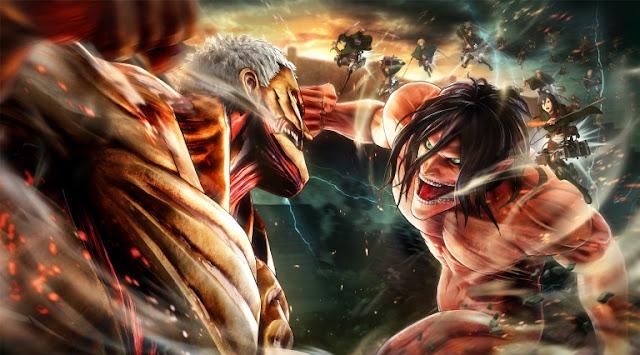 إستعراض لحزمة ضخمة من الصور للعبة Attack on Titan 2