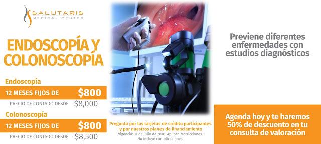 Precio Endoscopias y Colonoscopias en Guadalajara