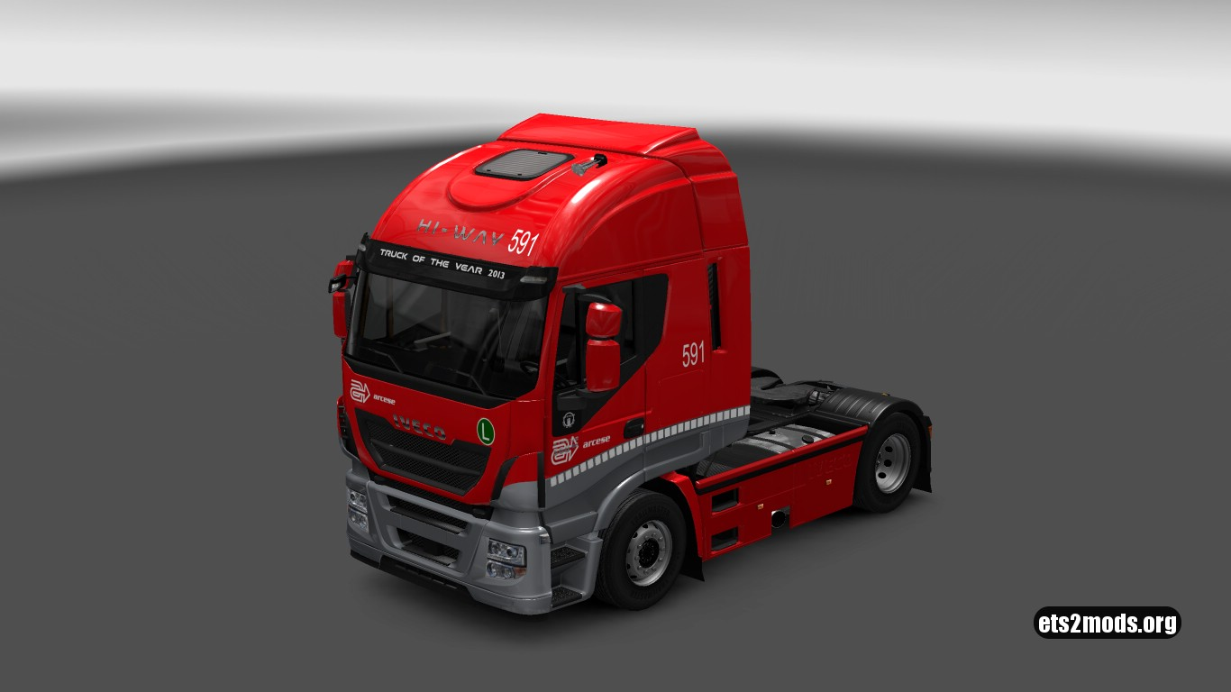 Arcese Trasporti Skin for Iveco Hi Way
