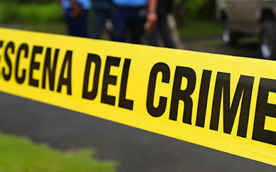 Cinta que marca escena del crimen